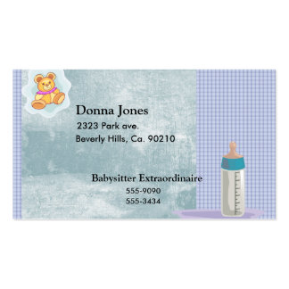 New Addition Baby Pack Of Standard Business Cards
