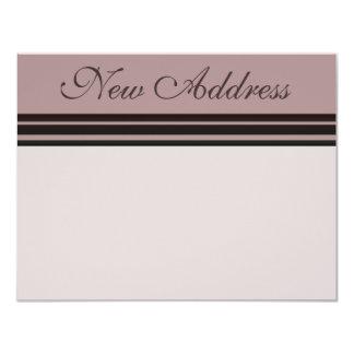 New Address 11 Cm X 14 Cm Invitation Card