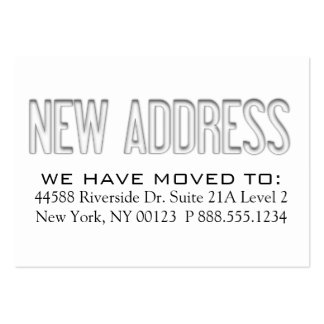 how to change a business address on google