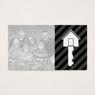 NEW ADDRESS annoucement home key Business Card
