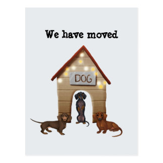 New Address Announcement We Have Moved Post Card