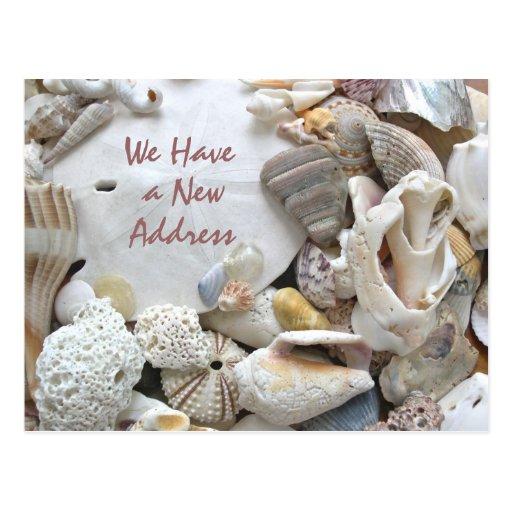 New Address Coastal Living Postcard
