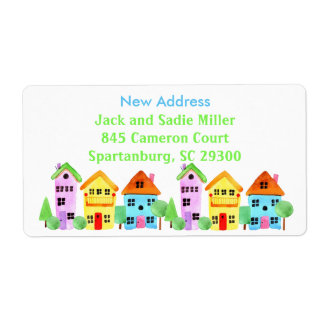 New Address Housewarming Neighborhood Moving