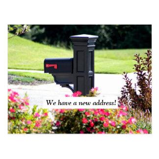 New Address Mailbox Postcard