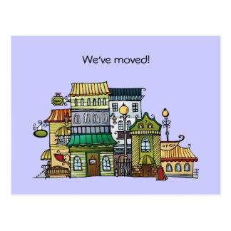 New Address Moving Announcement Postcard