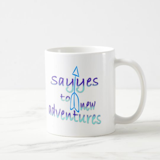 New Adventures in Blue Mug