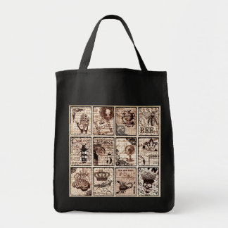 New Age Bingo Tote Grocery Tote Bag