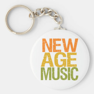New Age Music keychain