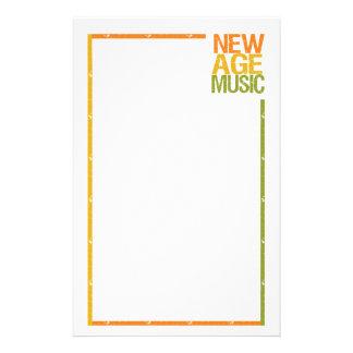 New Age Music stationary customizable Stationery Paper