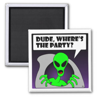 new alien party refrigerator magnets
