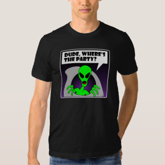 new alien party t-shirts