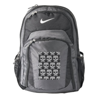 New allover skull pattern backpack