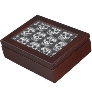 New allover skull pattern keepsake box