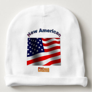 New American Citizen Baby Beanie