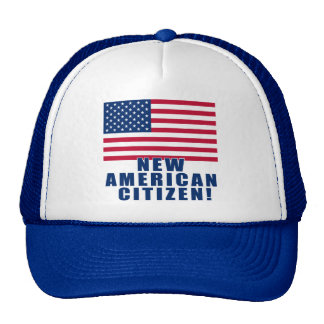 New American Citizen Gifts and Tshirts Cap