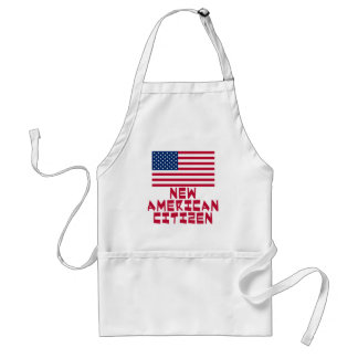 New American Citizen with American Flag Standard Apron