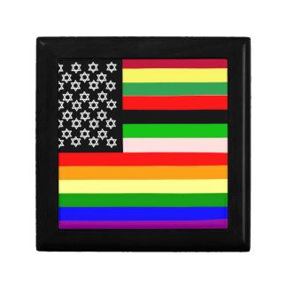 New American Flag Jewelry Box