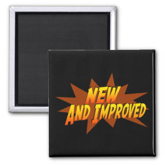 New And Improved Square Magnet