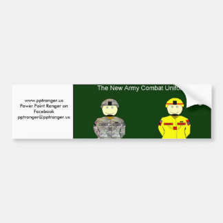 New Army Combat Uniform Bumper Stickers