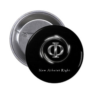 New Atheist Right Pinback Button
