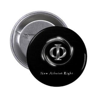 New Atheist Right Pinback Button