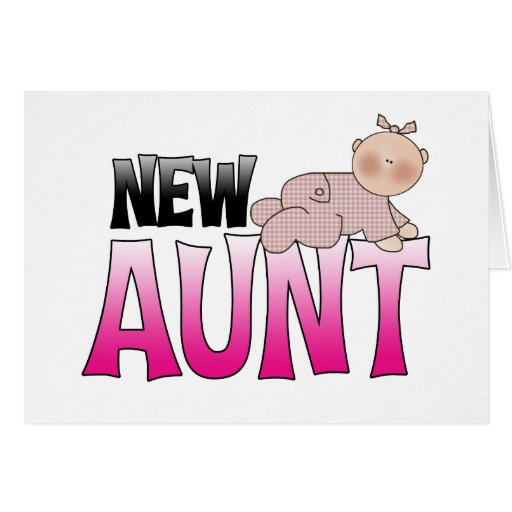 New Aunt Gift Greeting Card