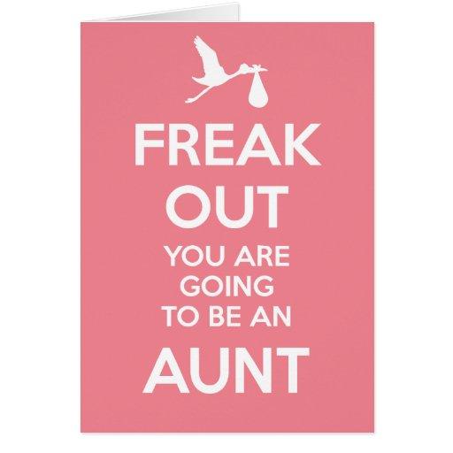 New Aunt Pregnancy Announcement Card