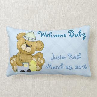 New Baby Boy Pillow
