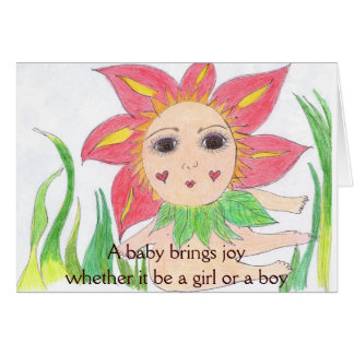 New Baby Congratulations Greeting Card
