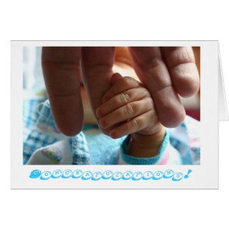 New baby Congratulations greeting card gifts