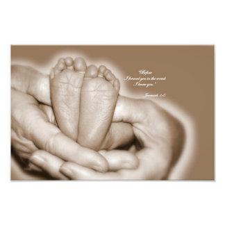 New Baby Dedication Photo Print