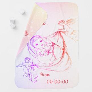 New Baby Girl  design Baby Blanket