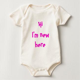 New Baby Onesy Baby Bodysuit