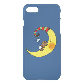 new baby sleeping on the moon iPhone 7 case