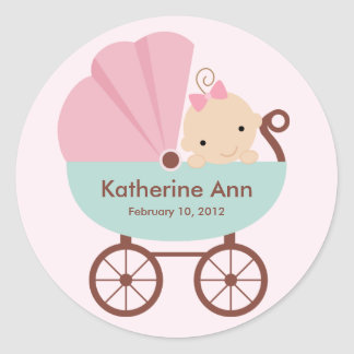 New Baby Sticker