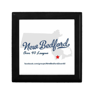 New Bedford Over 40 League Small Square Gift Box