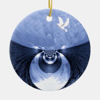 New Beginnings#1_ Ceramic Ornament