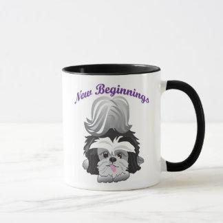 New Beginnings Happy Endings Mug
