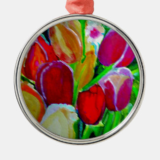 New Beginnings Silver-Colored Round Decoration