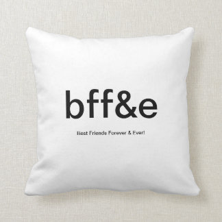 New BEST FRIENDS FOREVER bff&e CUSTOMIZABLE PILLOW