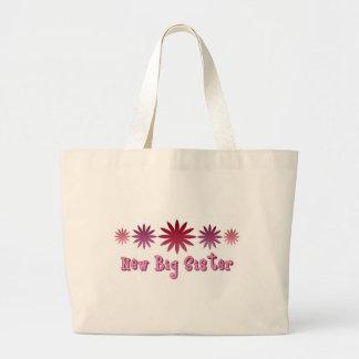 New Big Sister Large Tote Bag