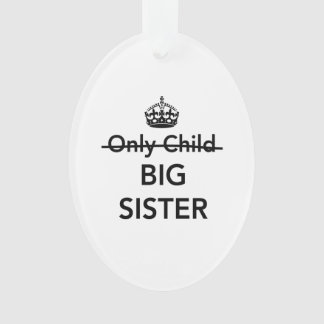 New Big Sister Ornament