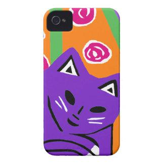 New Blackberry Case Cute Pink & Purple Cat Gift