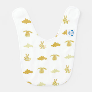 New Born Cub Neutral Baby Bib