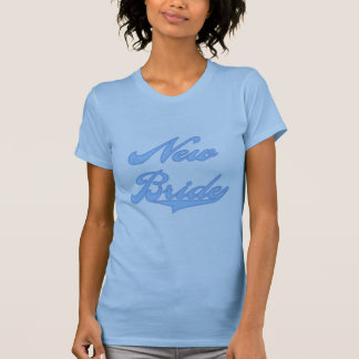 New Bride Blue T-shirts and Gifts