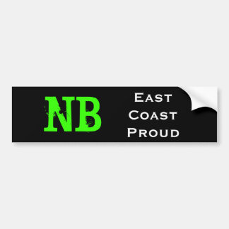 New Brunswick Bumper Sticker