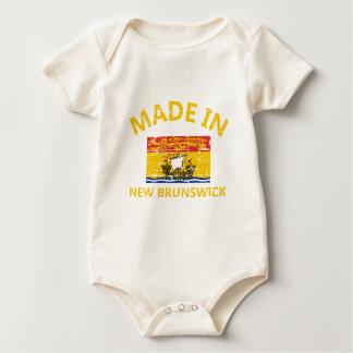 New Brunswick Coat of arms Baby Bodysuit
