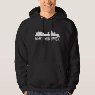 New Brunswick New Jersey City Skyline Hoodie