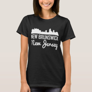 New Brunswick New Jersey Skyline T-Shirt