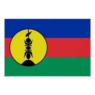 New Caledonia, Democratic Republic of the Congo Poster